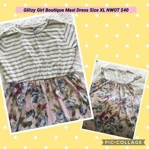 Glitzy Girl Boutique Maxi Dress